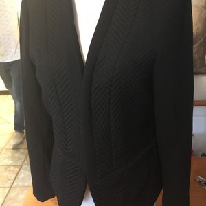 Rich-looking lined blazer for work or with jeans